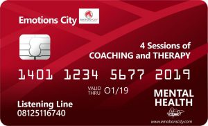 Emotions City Gift Card for 4 sessions